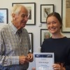 Ellie Hodge was the winner of the 2018 Greenham GoTafe Scholarship