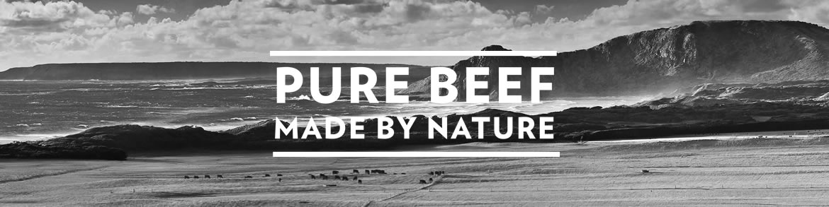 Pure Beef Made by Nature